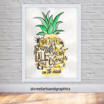 pineapple-display