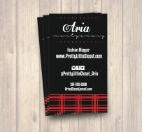 Biz Card Aria Display