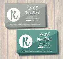 Biz Card Rachel Display