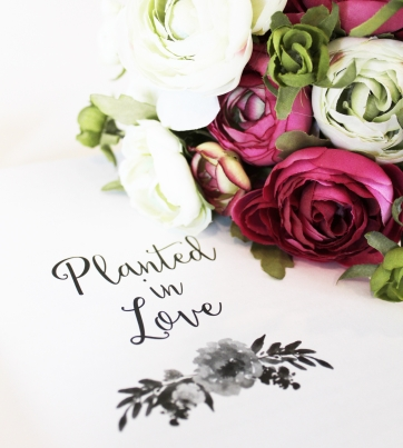 flourish - planted in love