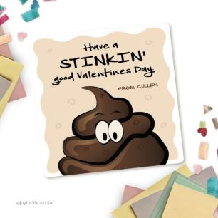 Stinky valentine display