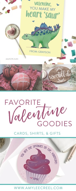 Favorite Valentines! - darling cards, shirts, and gifts!